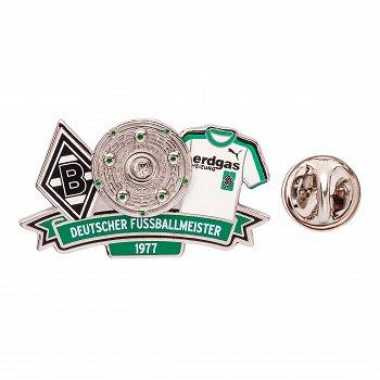 """Pin """"Deutscher Meister 1977"""""""