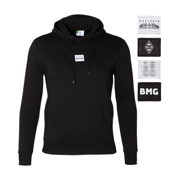 """men´s hoodie """"patch"""""""