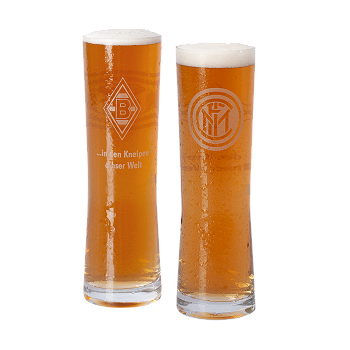 """Inter Mailand"" Tall Drinking Glass"