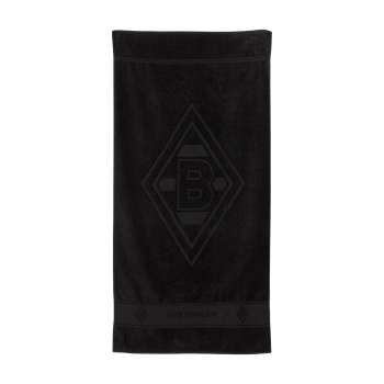 black towel with clublogo