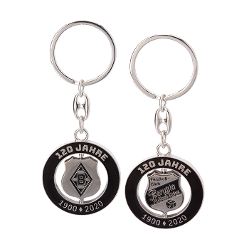 120th Anniversary keyring