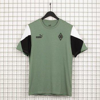 """Shirt """"FtblCulture"""" green"""